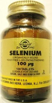 Solgar Selenium 100 g Tablets (Yeas 100