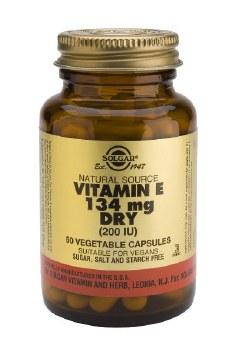 Solgar Dry Vitamin E 134 mg (200 IU)  50