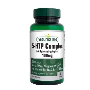 Natures Aid 5-HTP Complex 100mg 60 Tablets