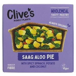 Clives Saag Aloo Pie 235g