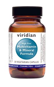 Viridian Nutrition High 5 Multivitamin & Mineral  60