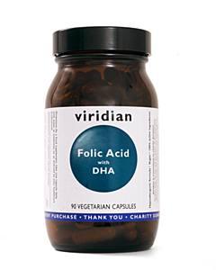 Viridian Nutrition Ltd Folic Acid Dha  90