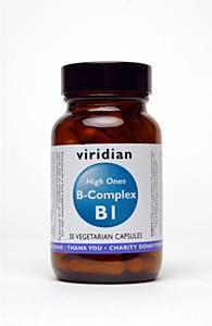 Viridian Nutrition High One B-Complex  30