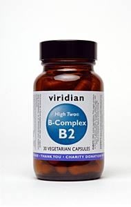 Viridian Nutrition High Two B-Complex 30