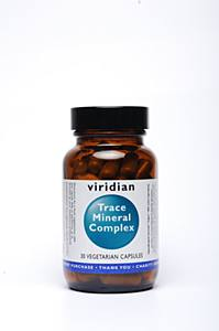 Viridian Nutrition Trace Mineral Complex 30