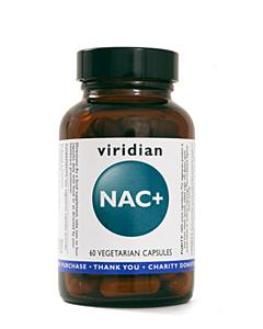Viridian Nutrition NAC+ Veg Caps 60