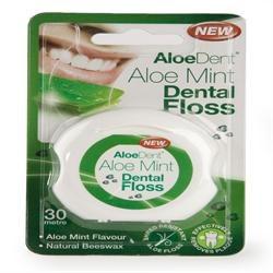 ALOE DENT Mint Dental Floss 1pack