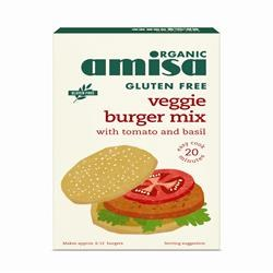 Amisa GF Veggie Burger Mix 140g