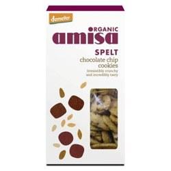 Amisa Org Spelt Choc Chip Cookies 150g
