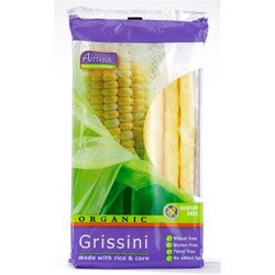 Amisa Org Corn & Rice Grissini 100g
