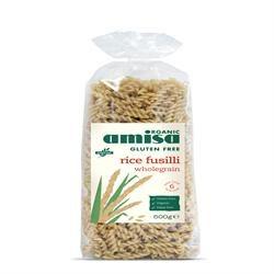 Amisa Org GF Wholegrain Rice Fusilli 500g