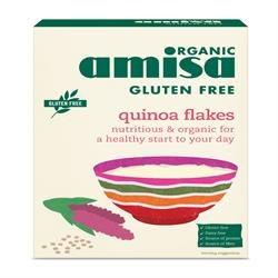 Amisa Oranic GF Quinoa Flakes 400g