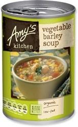 Amys Org Vegetable Barley Soup 400g