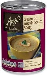 Amys Organic Cream of Mushroom Soup 400g