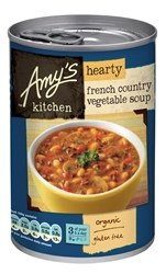 Amys Org French Country Veg Soup 408g