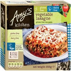 Amys GF DF Vegetable Lasagne 255g