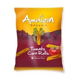 Amaizin Org Corn Rolls Tomato 100g