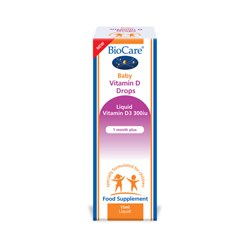 Biocare Baby Vitamin D Drops 300iu 15ml