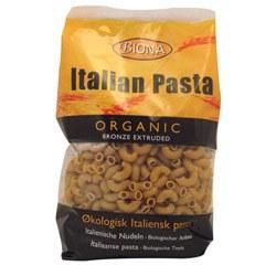 Biona Org Wholewheat Macaroni 500g