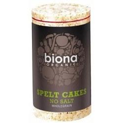 Biona Org Spelt Cakes No Salt 100g