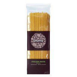 Biona Organic White Wheat Spaghetti 500g