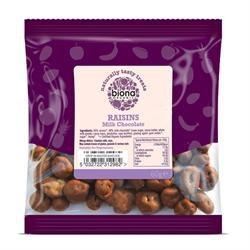 Biona Organic Milk Chocolate Raisins 60g