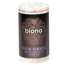 Biona Org Rice Cakes with Quinoa 100g