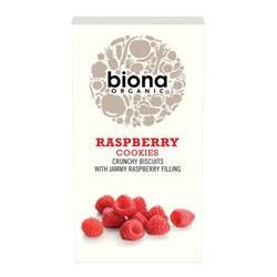 Biona Organic Raspberry Cookies 175g