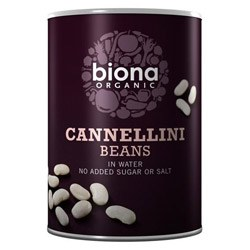 Biona Org Cannellini Beans 400g