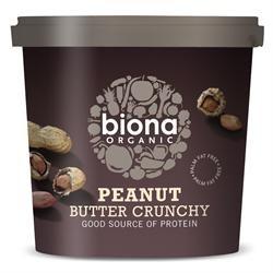 Biona Org Peanut Butter Crunchy 1kg