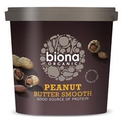 Biona Org Peanut Butter Smooth 1kg