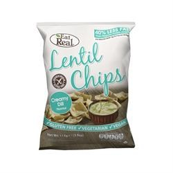 Eat Real  Eat Real Lentl Chip Cream Dill 113g