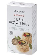 Clearspring Sushi Brown Rice 500g