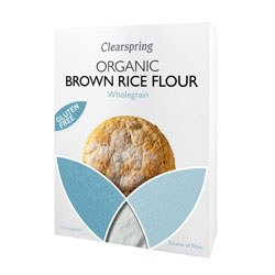 Clearspring Org GF Brown Rice Flour 375g