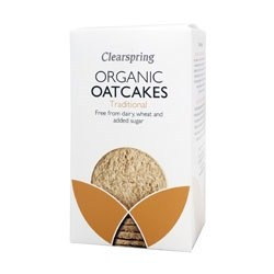 Clearspring Organic Oatcakes - Traditional 200g