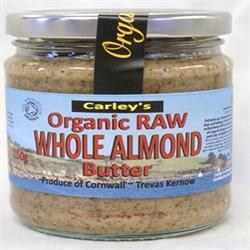 Carley's Org Raw Almond Butter 250g