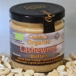 Carley's Org Cashewnut Butter 170g