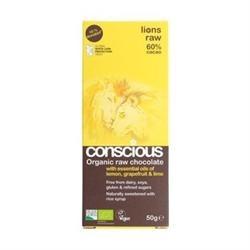 Conscious Chocolate Citrus Zest 60g