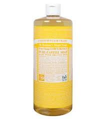 Dr Bronner Citrus Castile Liquid Soap 237ml