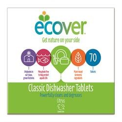Ecover Dishwash Tablets Classic 70 tablet