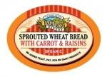 Everfresh Natural Foods Org Sprout Carrot Raisin Bread 400g