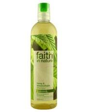 Faith in Nature Hemp & Meadowfoam Shampoo 400ml