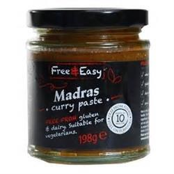 Free Natural G/F Madras Curry Paste 198g