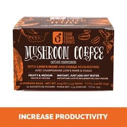 Four Sigma Foods Mushroom Coffee Lions Mane 10 sachet
