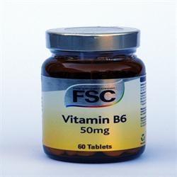 FSC Vitamin B6 100mg 60 tablet