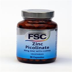 FSC Zinc Picolinate 30mg 90vegicaps