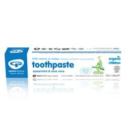 Green People Childrens Spearmint Toothpaste 1x50ml