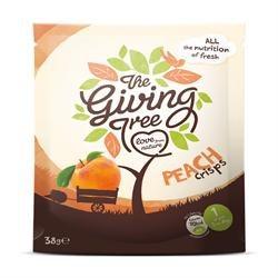 Giving Tree Ventures Peach Crisps 38g