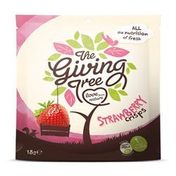 Giving Tree Ventures Strawberry Crisps 18g