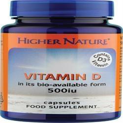 Higher Nature Vitamin D 120 capsule